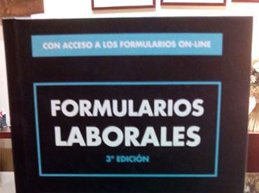 Libro Formularios laborales